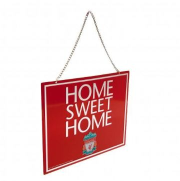 Liverpool FC Home Sweet Home Sign